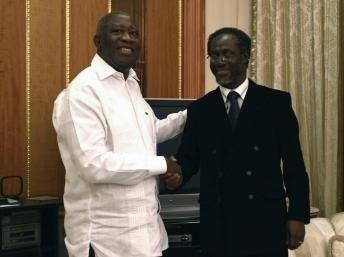 SEM Laurent Gbagbo et son premier ministre.